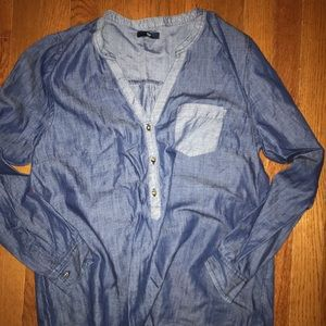 Gap denim shirt small